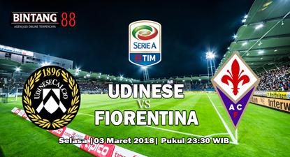 Prediksi Skor Udinese vs Fiorentina 3 April 2018