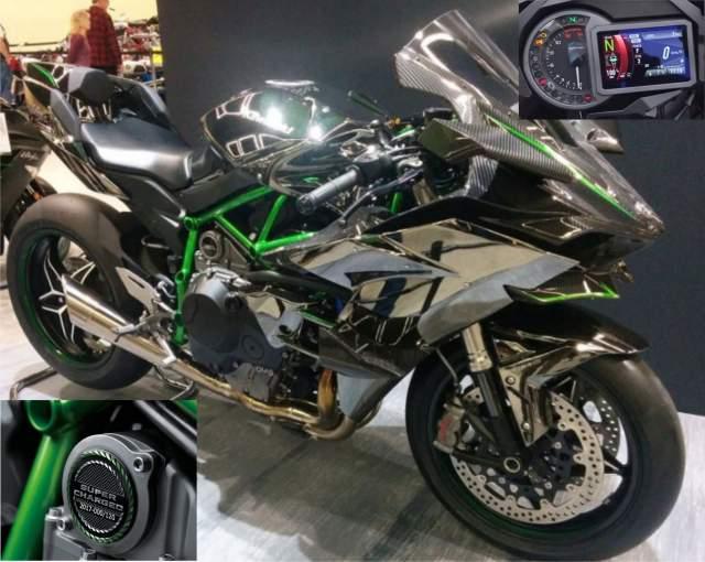 Kawasaki H2 tahun 2019
