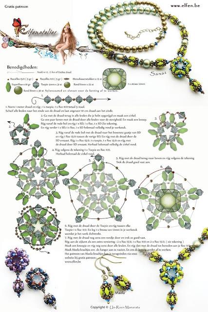 wzory bizuterii koralikowej