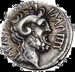 Jupiter Amon mit Amuns-Hörnern