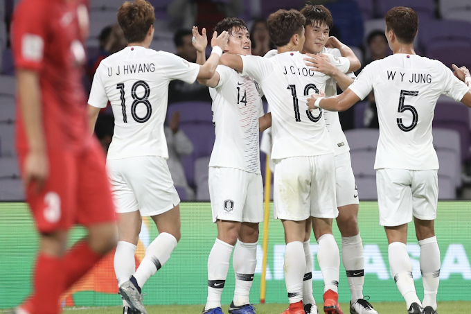 South Korea and Japan both progress in Asian Cup with maximum points
