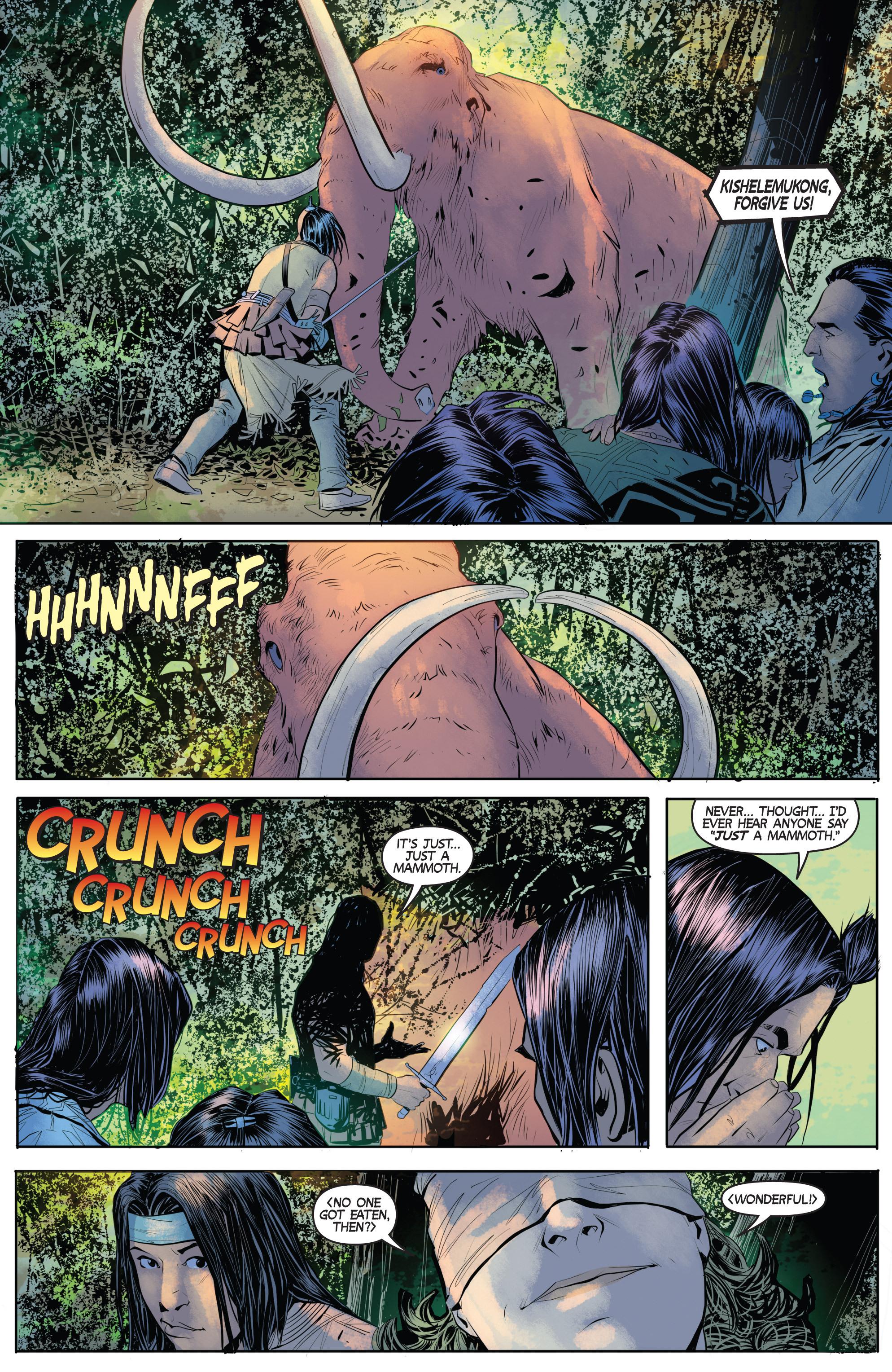 Read online Turok: Dinosaur Hunter (2014) comic -  Issue # _TPB 1 - 57