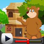 G4K Cute Brown Bear Rescue Game Walkthrough