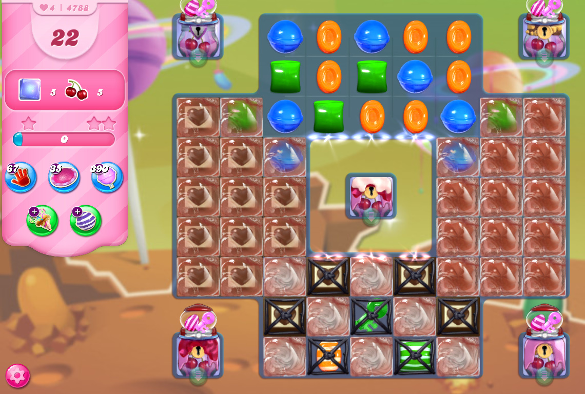 Candy Crush Saga level 4788