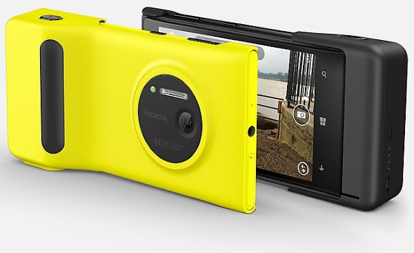 Nokia Lumia 1020 Camera Grip - Hands on Video