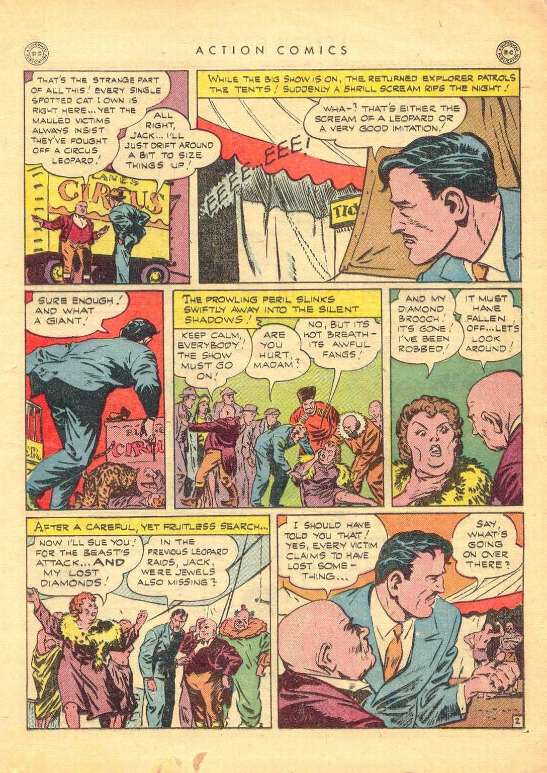 Read online Action Comics (1938) comic -  Issue #77 - 34
