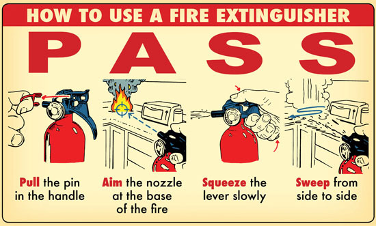 Tabung Pemadam Kebakaran powder