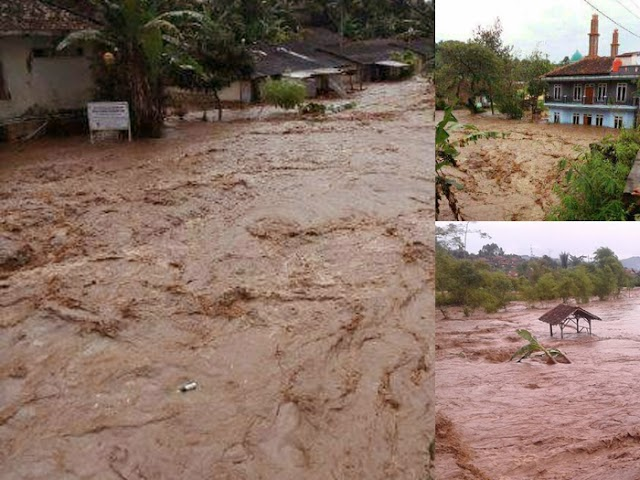 Banjir Bandang Terjang Tiga Desa di Kab. Bandung Barat