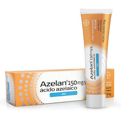 tratamento topico acne acido azelaico