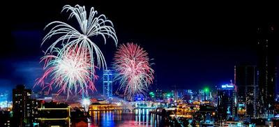 Салют на День города 18 августа 2018