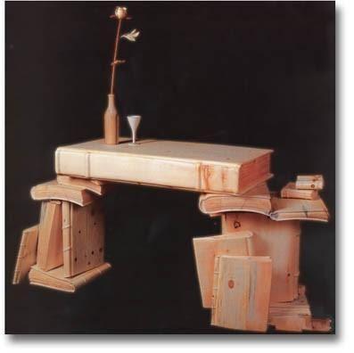 Artículo tallado en madera