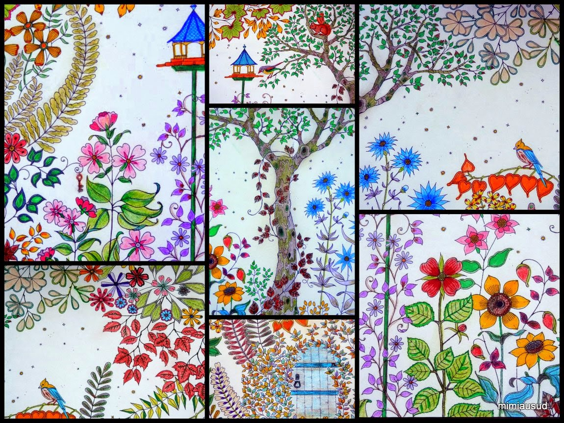 Mireille coeur soleil ao t 2014 for Jardin secret des hansen