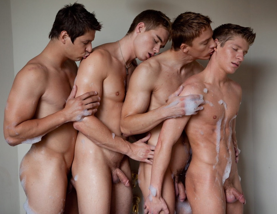 Gay Naked Shower 113