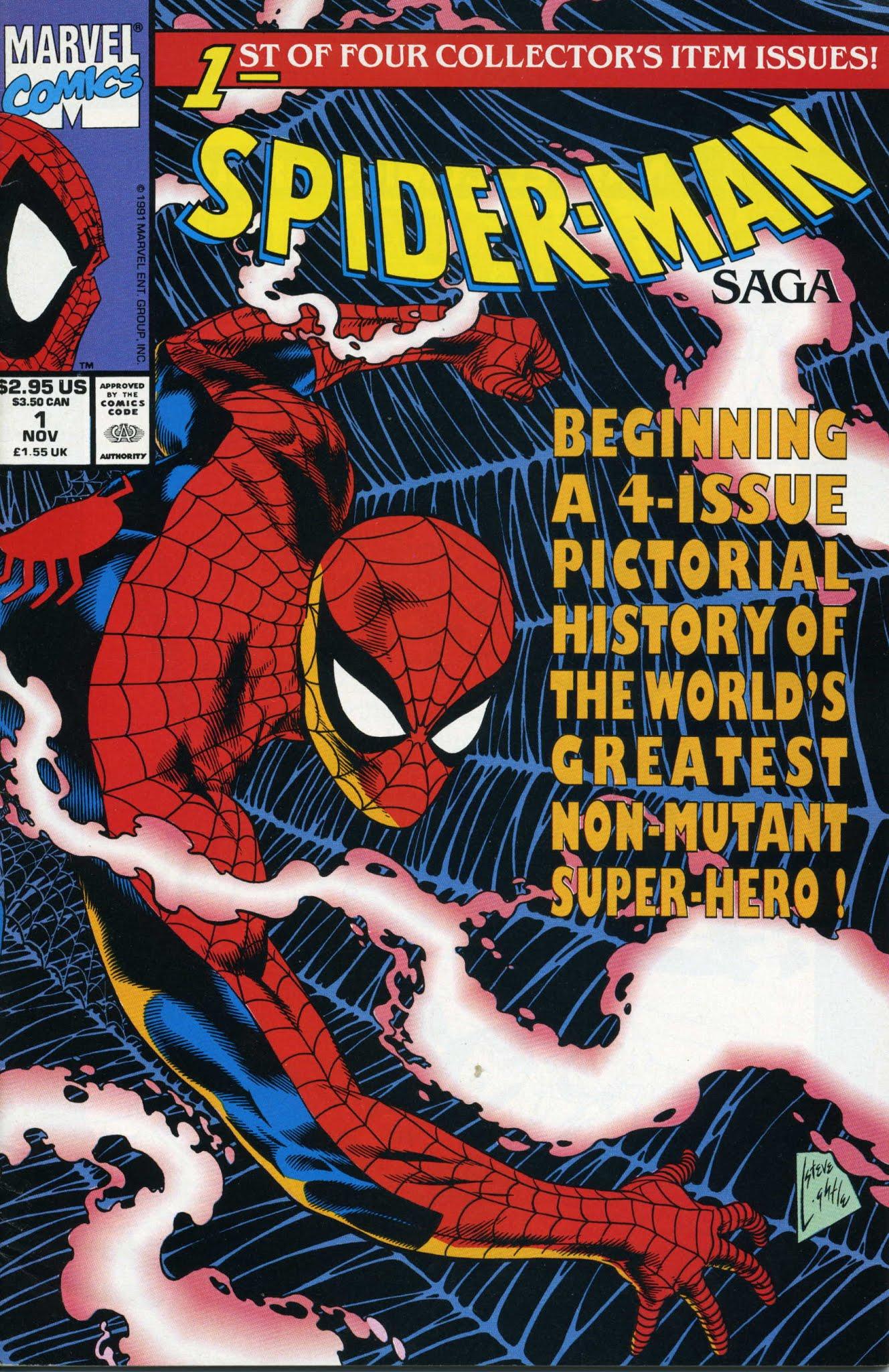 Spider-Man Saga (1991) issue 1 - Page 1