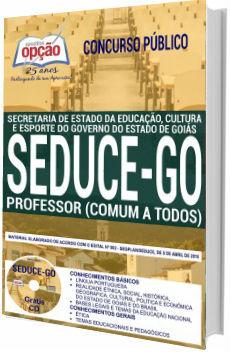 Apostila SEDUCE 2018 Professor