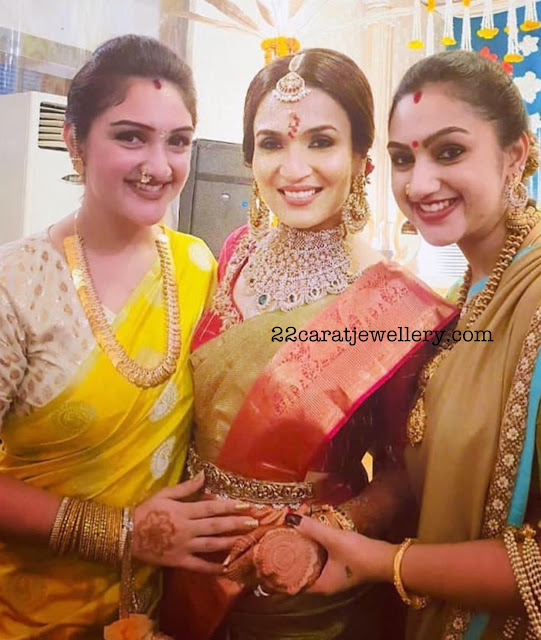 Preeta Sridevi at Soundhrya Rajinikanth Wedding
