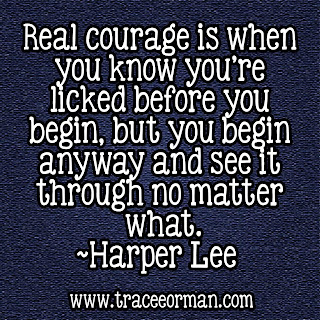 Harper Lee quote www.traceeorman.com