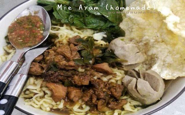 Mie Ayam Yang Enak BLOG ULIN LANGIT