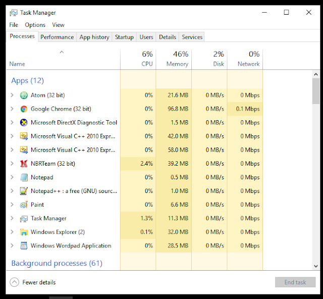 Cara Enable Task Manager yang ke disable di Windows