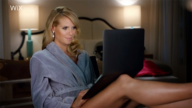 "Wix.com New Commercial Starring Heidi Klum - ""Its That Easy"""