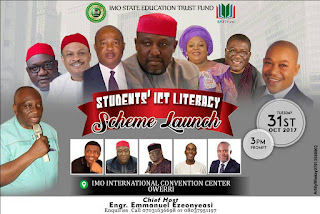 Imo State Education Trust Fund Embarks on Student's ICT Literacy Project