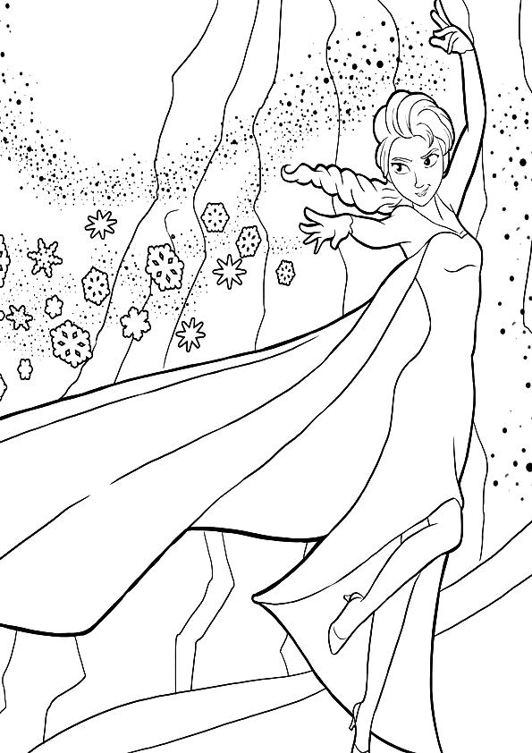 Dibujos De Frozen Para Colorear Pintar E Imprimir Anna