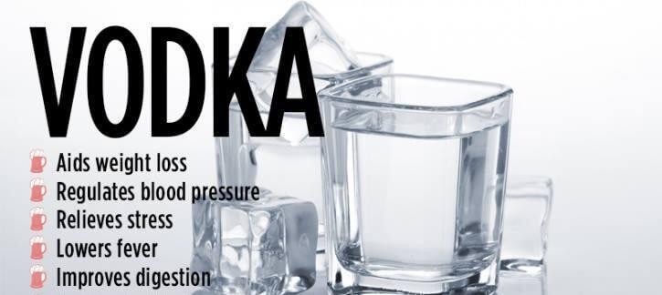 Votka Sağlığa Yararlı Bir İçkidir