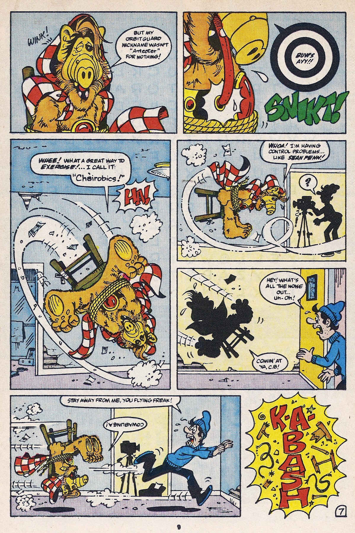 Read online ALF comic -  Issue #16 - 11