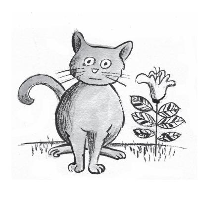 El gat que va parlar sense voler (Il·lustració: Pere Virgili)