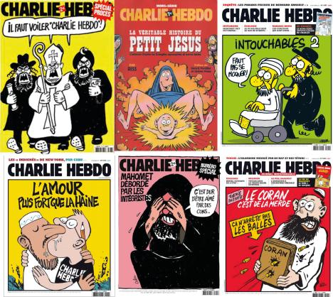 charlie hebdo cartoons