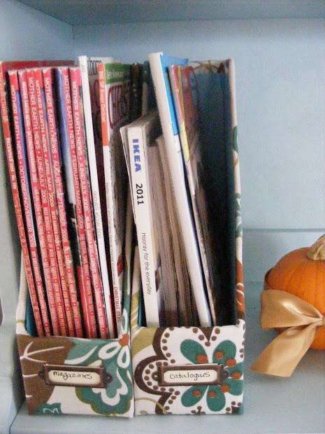 Organizedhome Day 21 Diy Magazine File Complete