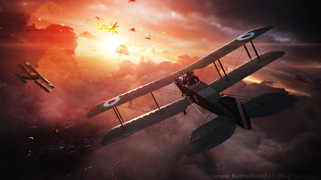 Battlefield 1 - Sunset Biplane Dogfights
