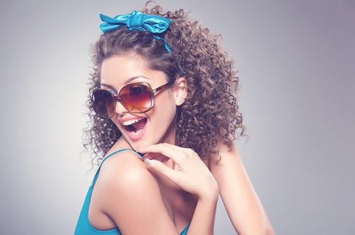 Acessórios para cabelo cacheado