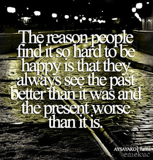 see the past - happiness quotes