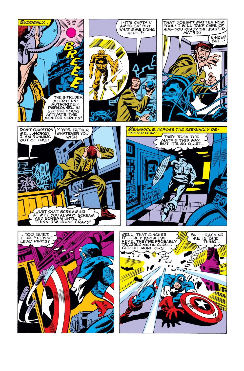 Captain America (1968) Issue #243 #158 - English 12