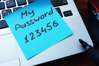 weak password