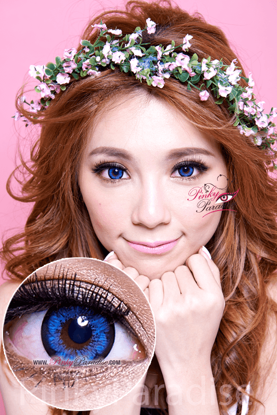 G&G Blossom Blue Circle Lenses (Colored Contacts)