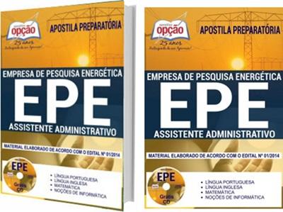 Apostila Concurso EPE 2018 Assistente Administrativo