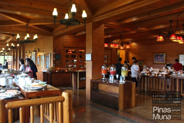 breakfast buffet at Le Chef The Manor at Camp John Hay Baguio