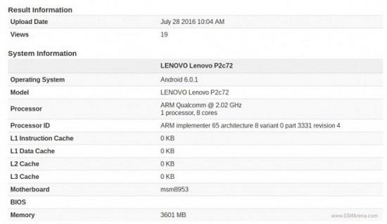 Lenovo Vibe P2 com tela AMOLED de 5,5 polegadas