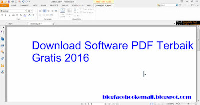 Download software PDF gratis Foxid reader 2016