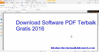 Download software PDF gratis Foxid reader 2016