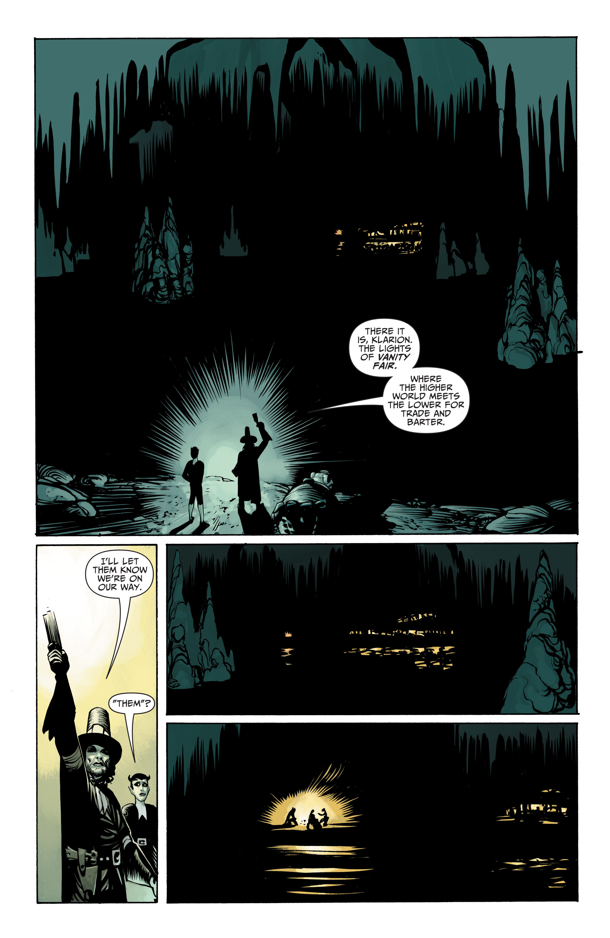 Read online Seven Soldiers: Klarion the Witch Boy comic -  Issue #2 - 14