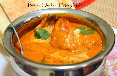Butter Chicken | Murg Makhani