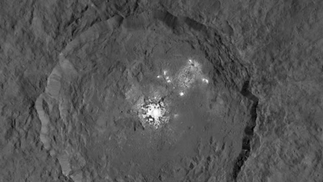 ceres planet bright spots