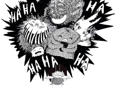 encre ink illustration monster monstre children