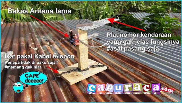 DIY Antena TV, bikin antena tv sendiri,membuat antena sendiri,