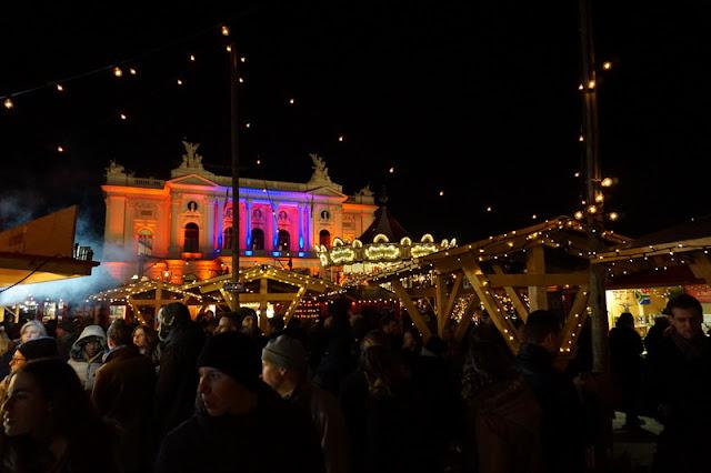 kokemuksia sveitsistä joulukuussa zürich