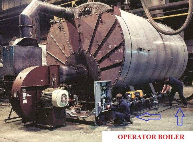 Tugas dan Tanggung jawab Seorang Operator Boiler
