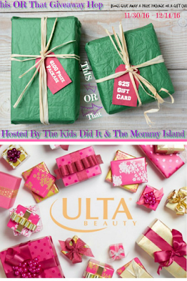 Ulta Gift Card Holiday Giveaway Hop